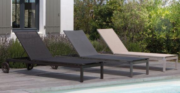 Longue Jardin Brush Chaise Finition Soleil De Lit Théma PiXZuk