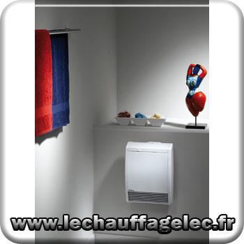 Chauffage lectrique soufflant noirot h lios cs avec for Chauffage porte serviette electrique