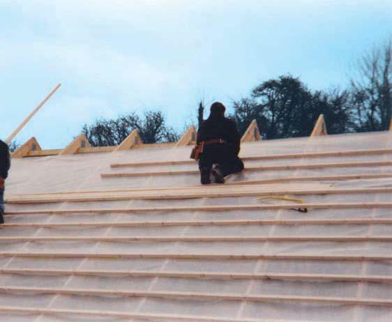 bande arase ossature bois rev tements modernes du toit. Black Bedroom Furniture Sets. Home Design Ideas