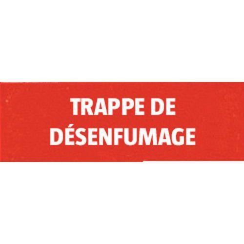 PANNEAU RIG 330X120 MM TRAPPE DE DESENFUMAGE