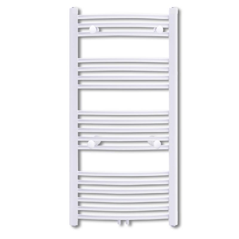 Radiateur chauffage central sèche-serviettes circulation d\'eau chaude hauteur 116 cm salle de bain 3202027