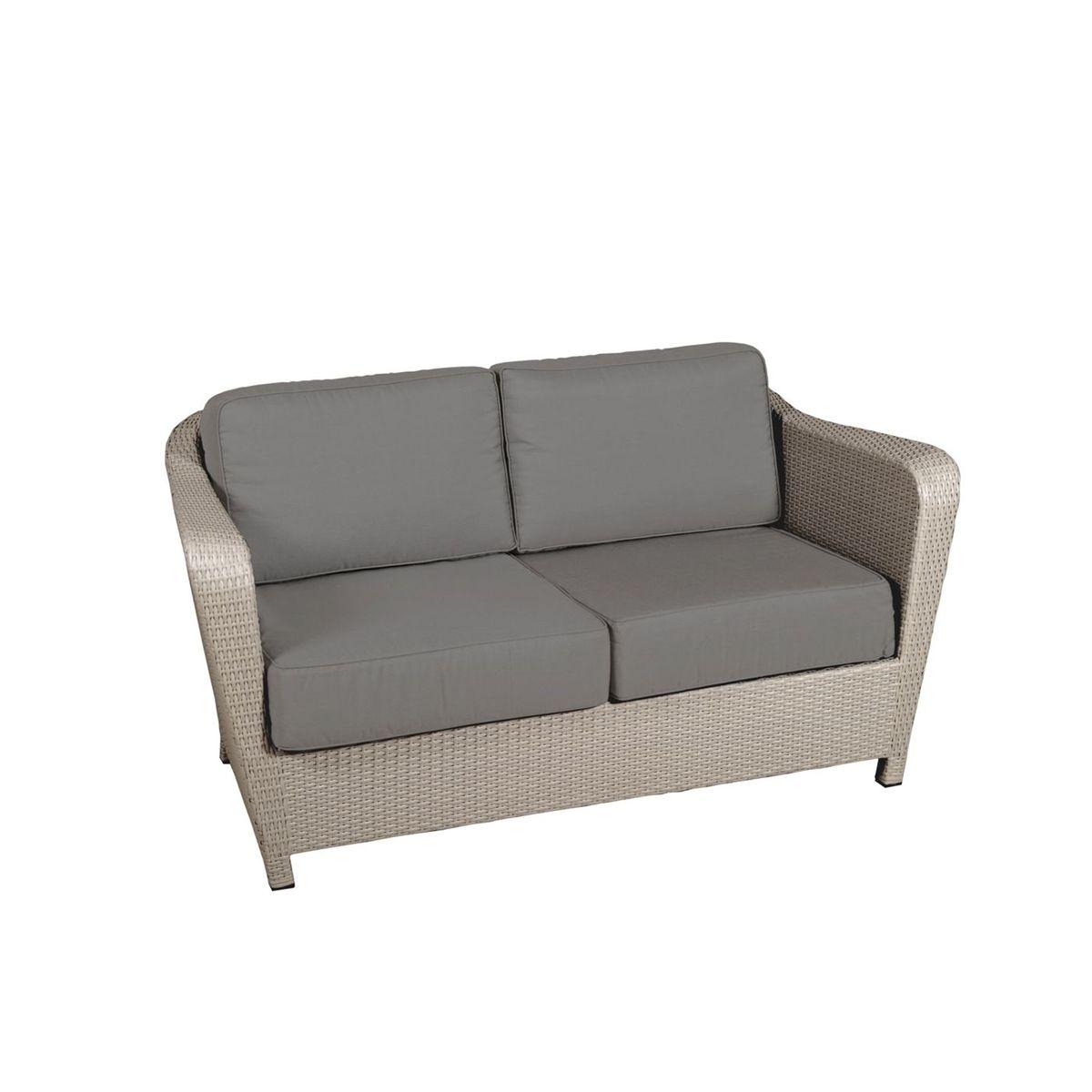 canape 2 places wicker briton sel les jardins. Black Bedroom Furniture Sets. Home Design Ideas