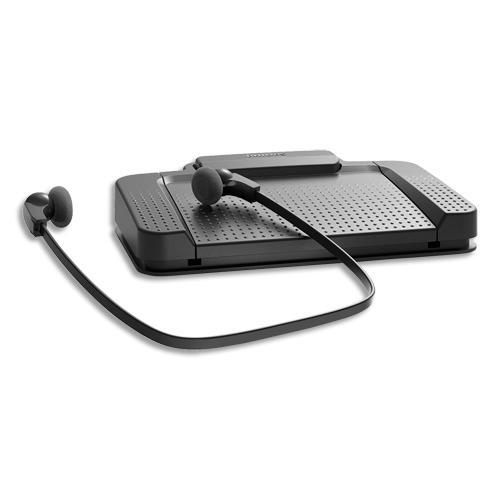 Philips kit de transcription : pédale, écouteur, adaptateur audio usb lfh5220/00