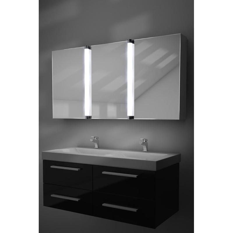 Mobiliers de salle de bain diamond x collection achat for Armoire de toilette miroir lumineux