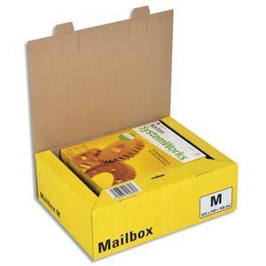 dinkhauser boite d 39 expedition postale mailbox m jaune dimensions l32 5 x h24 x p10 5 cm. Black Bedroom Furniture Sets. Home Design Ideas