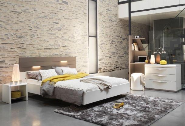 lits romana 140 x 190 cm. Black Bedroom Furniture Sets. Home Design Ideas