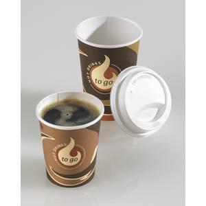 gobelet a cafe avec decoration materiau carton. Black Bedroom Furniture Sets. Home Design Ideas