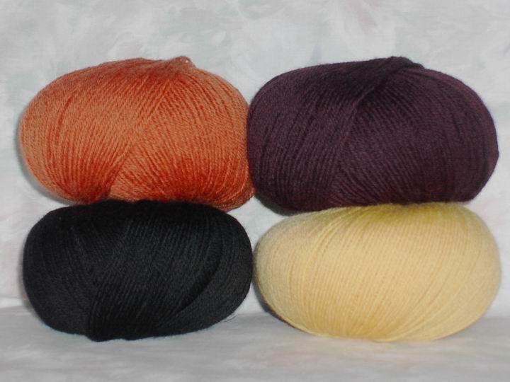 Kit doudou et poupée - laine cheveux classiques
