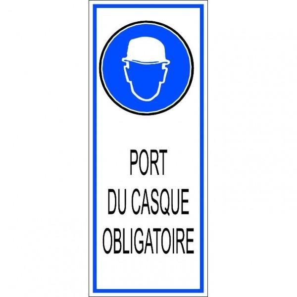 MESSAGE PORT DU CASQUE OBLIGATOIRE