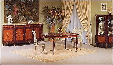 salle a manger de style louis xv. Black Bedroom Furniture Sets. Home Design Ideas