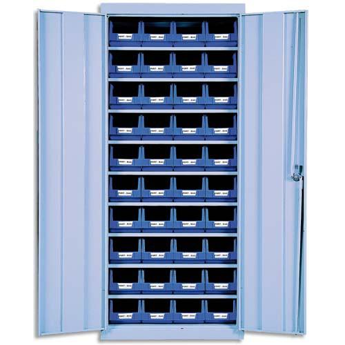 Rayonnage et armoire bac comparez les prix pour for Meuble de rangement avec bac
