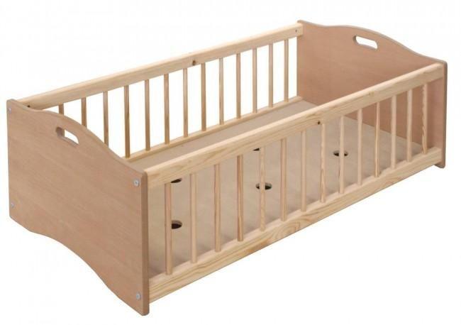 lits pour creches bas empilables prima hetre naturel 120 x 60 cm. Black Bedroom Furniture Sets. Home Design Ideas