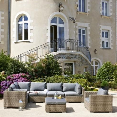 Salon de jardin luxe montmartre 6 8 places en r sine tress e comparer les prix de salon de Salon de jardin luxe vendome