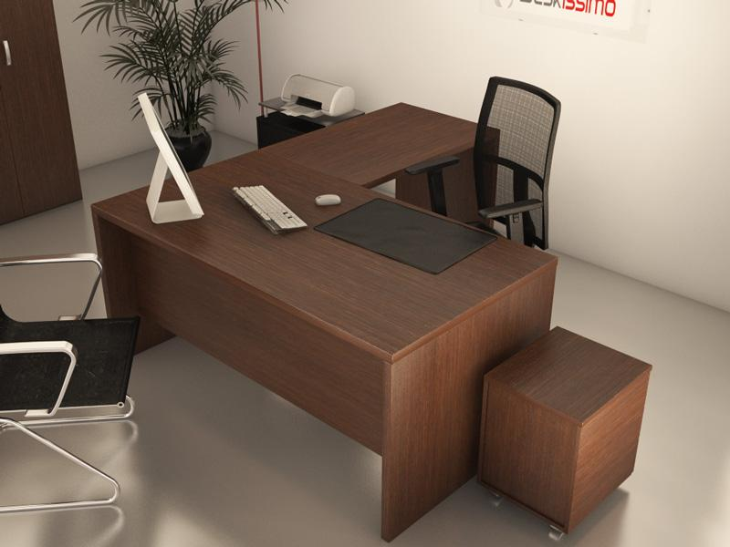 bureau de direction deskissimo achat vente de bureau. Black Bedroom Furniture Sets. Home Design Ideas