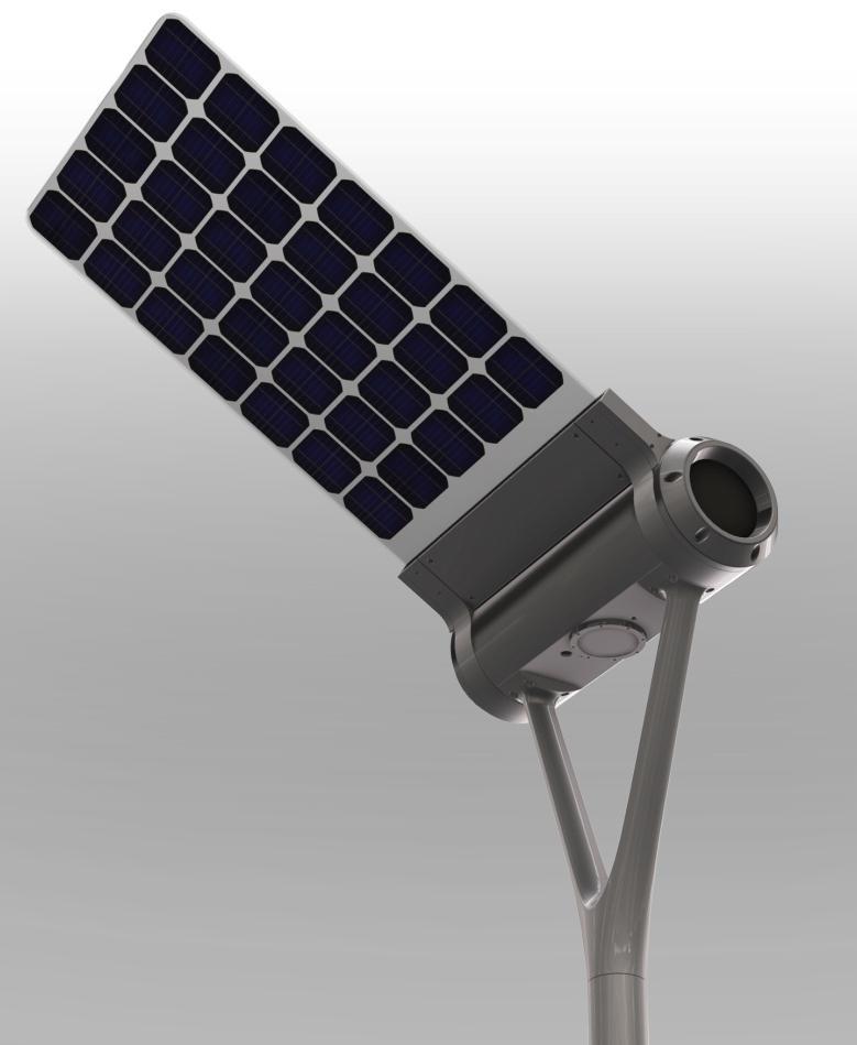 Lampadaires solaires pour l 39 eclairage public tous les for Eclairage exterieur lampadaire
