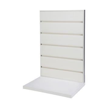 presentoir de table flexislot blanc similaire a ral 9010. Black Bedroom Furniture Sets. Home Design Ideas