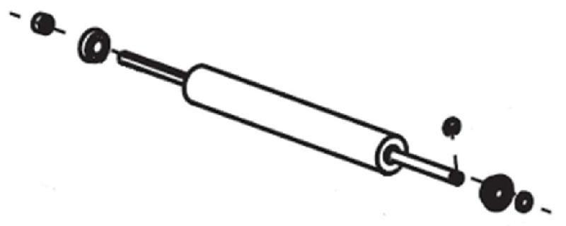 1 ROULEAUX DE TRANSFERT ZEBRA G46278M ORIGINAL  NOIR  POUR ZEBRA G46278M