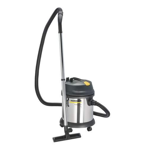 aspirateur professionnel eau et poussi re cuve acier k rcher nt27 1 27 litres karcher. Black Bedroom Furniture Sets. Home Design Ideas