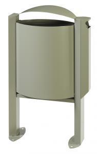 Corb 40l/pied arkea +cend gris ciment 7033