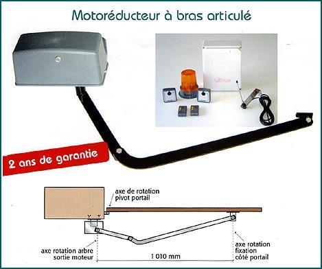 motorisation a bras articule kit sn 50. Black Bedroom Furniture Sets. Home Design Ideas