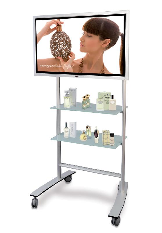 PIED ÉCRAN SUPPORT D'ÉCRAN MOBILE TV RACK