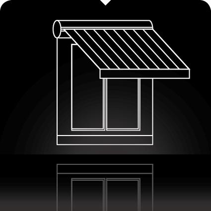 stores exterieurs sur mesure. Black Bedroom Furniture Sets. Home Design Ideas