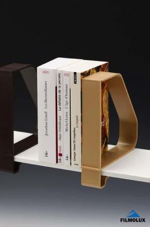 serre livres filmolux achat vente de serre livres filmolux comparez les prix sur. Black Bedroom Furniture Sets. Home Design Ideas