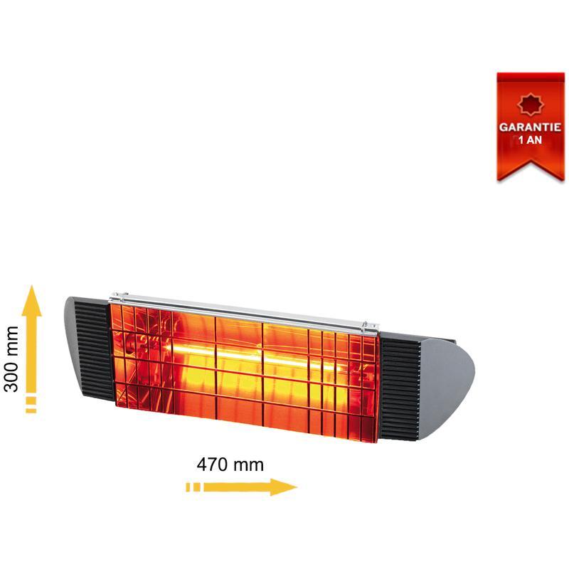 Chauffage infrarouge stark achat vente de chauffage infrarouge stark comparez les prix sur - Lampe chauffante infrarouge ...