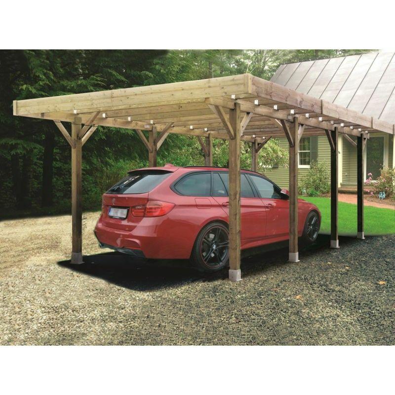 garage en bois solid achat vente de garage en bois solid comparez les prix sur. Black Bedroom Furniture Sets. Home Design Ideas