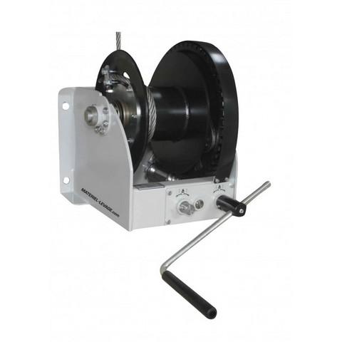 Treuil de levage 2 vitesses à tambour simple sur roue libre ww2000/5000-d/fsb