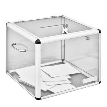 Urne électorale sans compteur - réf.ue1300