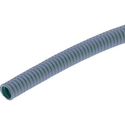 GAINE ANNELÉE MÉTALLIQUE Ø INT 10 MM Ø EXT 14 MM GRIS LAPPKABEL SILVYN® AS-P 9/10X14 10M GY 64400110