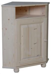 Armoires de cuisine comparez les prix pour professionnels sur - Meuble d angle en bois brut ...