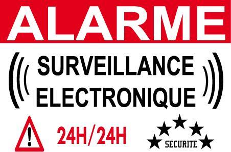Photos panneaux de signalisation page 3 for Alarme surveillance maison