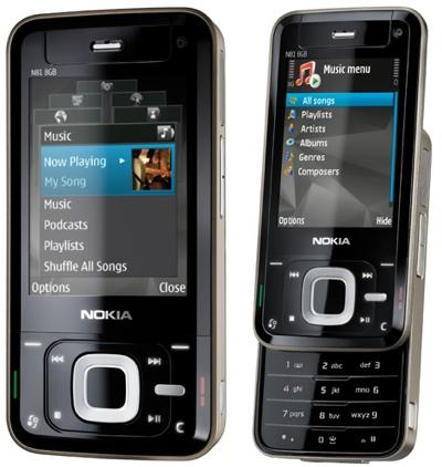 Smartphone - nokia n81