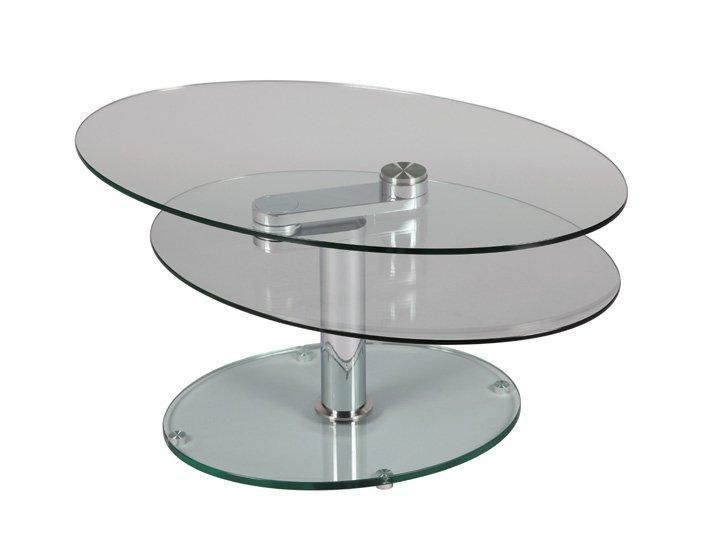 Table plateaux pivotants splash en verre comparer les for Table basse 3 plateaux pivotants