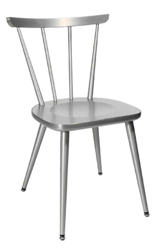 W 1960 Chaise Bistrot Aluminium Satin