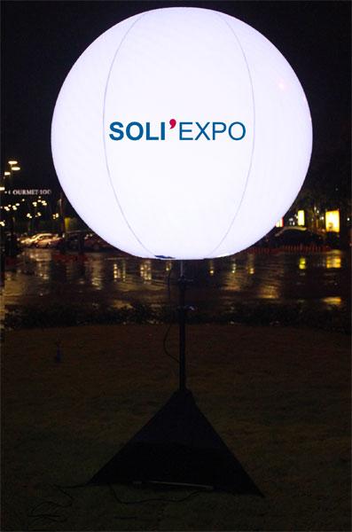 Ballon led 150 cm