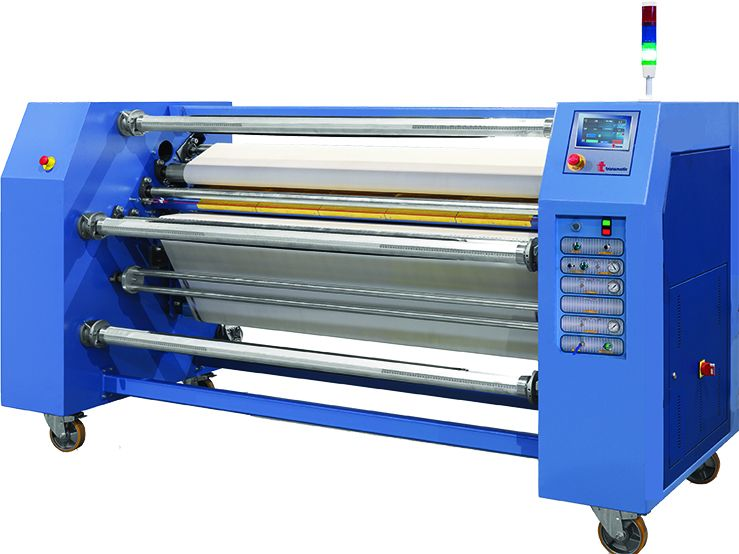 Calandre transmatic roll to roll