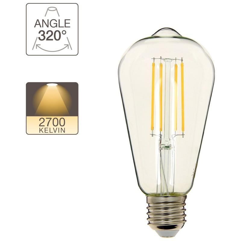 E2711w LedCulot Ampoule Ou Cons75w EqLumière Blanc Chaud UGSzMVpLq