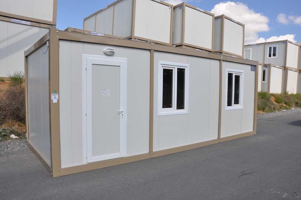 K1001 bungalow de chantier modulaire 6.94 x 2.99 x 2.64 m