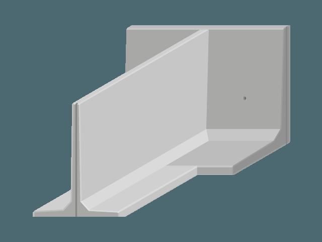 mur de sout nement d 39 angle. Black Bedroom Furniture Sets. Home Design Ideas