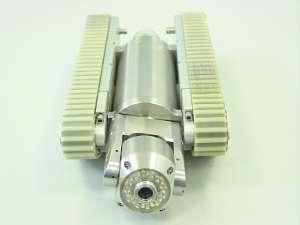Banc de controle optique par char d'inspection motorise snoopy
