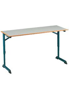 Table pour salles de classe for Bureau 130x50