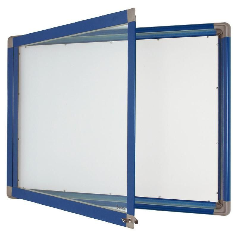vitrine int rieur cadre bleu 8 feuilles a4 fond m tal comparer les prix de vitrine int rieur. Black Bedroom Furniture Sets. Home Design Ideas