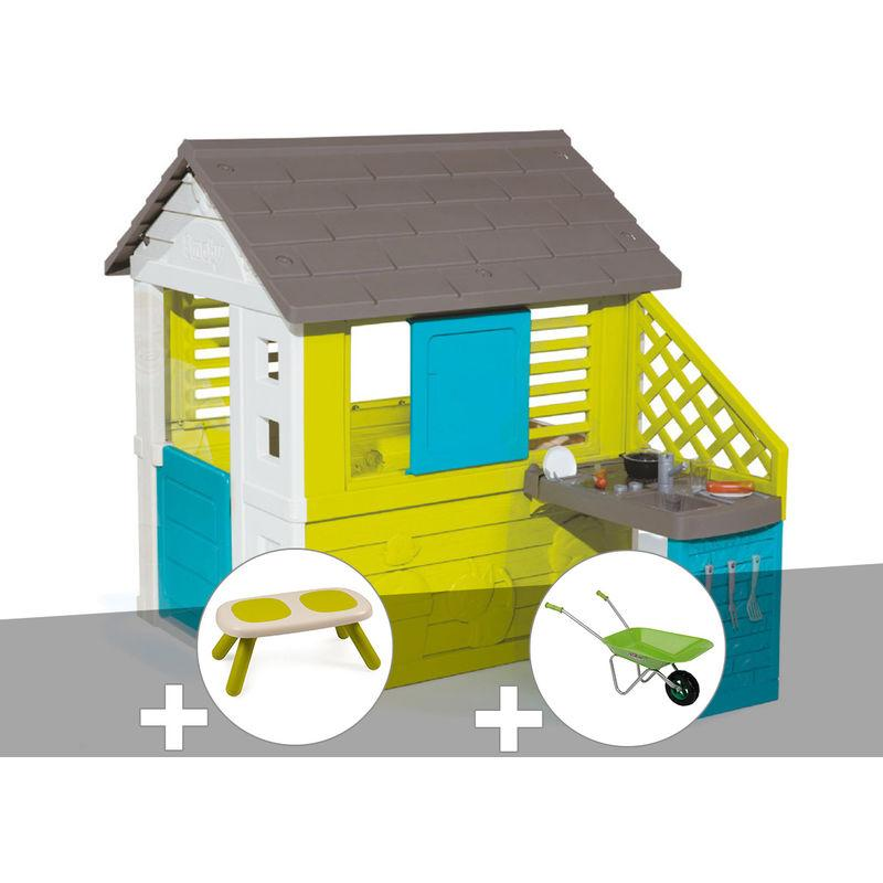 Smoby Maison Friends House Avec Sonnette Incluse Comparer Les Prix