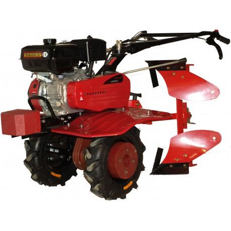 MOTOCULTEUR MEP900 7 CV AVEC CHARRUE BRABANT ET 8 FRAISES - ELECTROPOWER