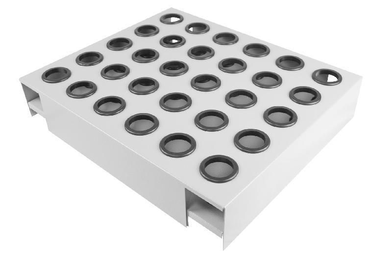 Support porte-cônes iso40 pour servantes mw-tools dehiso40