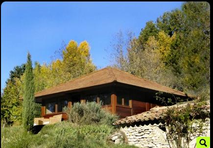 Chalet en bois plain-pied / 25 m² / en kit / toit multipente