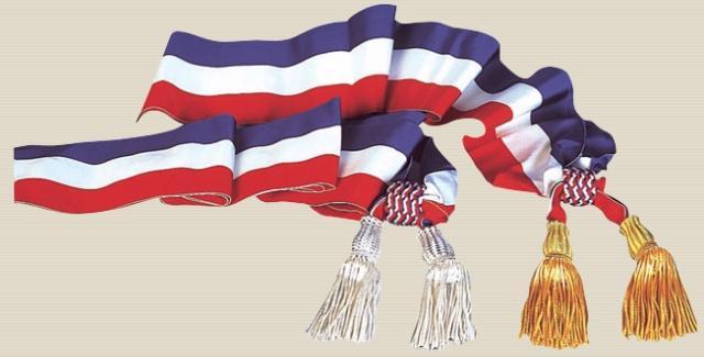 echarpes pour maires et adjoints - tous les fournisseurs - - echarpe ... 29515b5f214